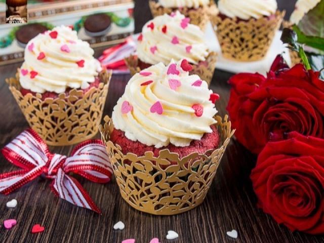Рубиновые кексы Вкусный простой быстрый рецепт